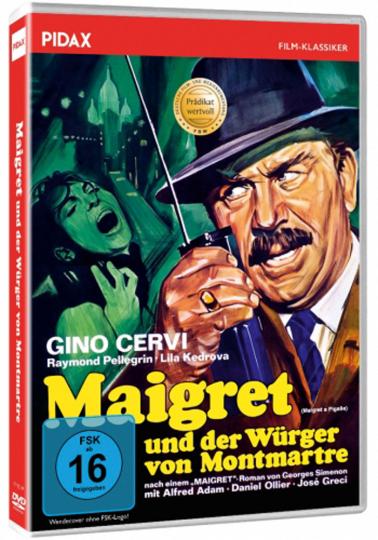 Maigret und der Würger von Montmartre. DVD.