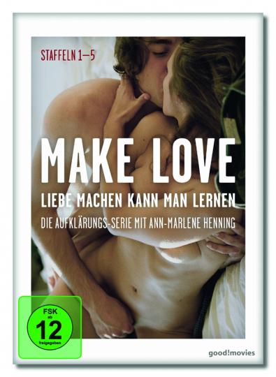 Make Love. Liebe machen kann man lernen Staffel 1-5. 6 DVDs.