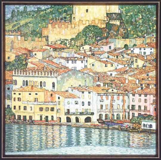 Malcesine am Gardasee. Gustav Klimt (1862-1918).
