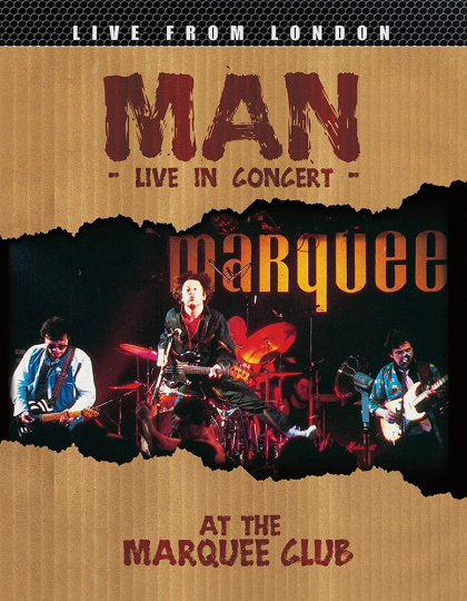 Man. Live In Concert At The Marquee Club. DVD.