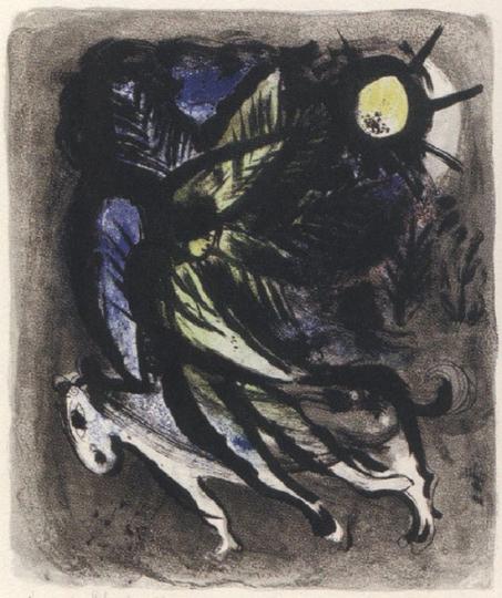 Marc Chagall. Der Engel.