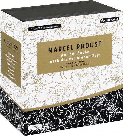 Marcel Proust. Auf der Suche nach der verlorenen Zeit. mp3-Gesamtausgabe.