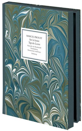 Marcel Proust. Sur la Lecture. Faksimile der Originalhandschrift.
