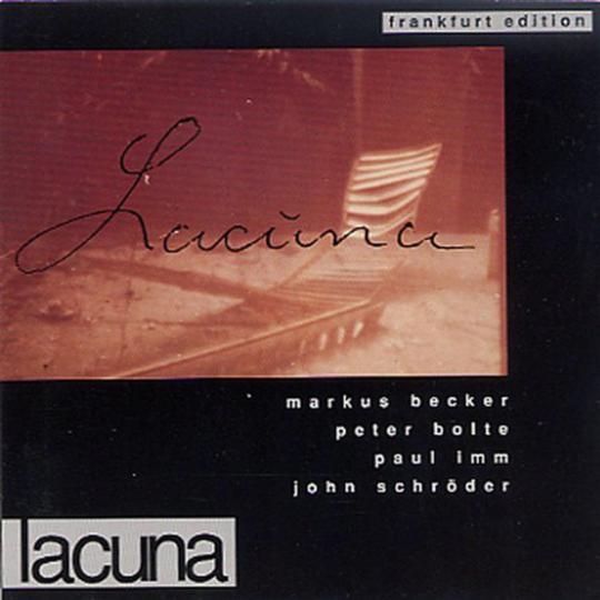 Marcus Becker Quartet. Lacuna. CD.