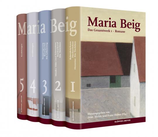 Maria Beig. Das Gesamtwerk in 5 Bänden.