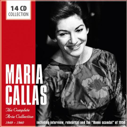 Maria Callas. Die vollständigen Arien. 14 CD-Set.