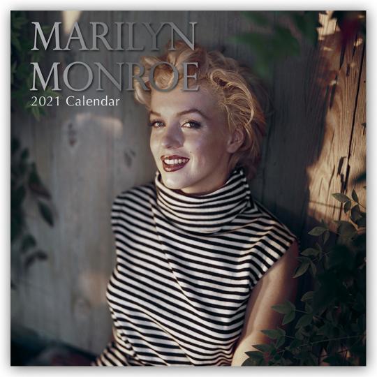 Marilyn Monroe. Wandkalender 2021.