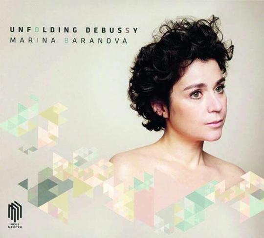 Marina Baranova. Unfolding Debussy. CD.