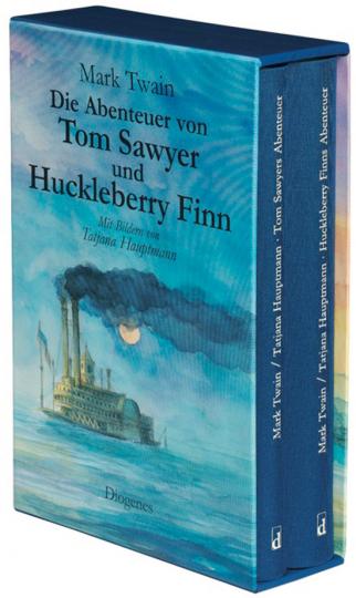 Mark Twain. Die Abenteuer von Tom Sawyer und Huckleberry Finn.