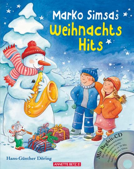 Marko Simsas Weihnachtshits. Buch + CD.