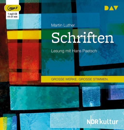 Martin Luther. Schriften. mp3-CD.