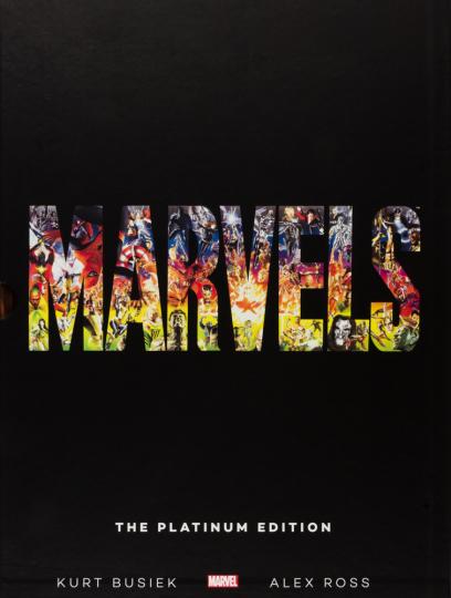 Marvels. The Platinum Edition. XXL-Band im Schuber.