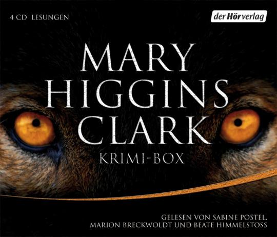 Mary Higgins Clark. Kurzer Prozess. Die Leiche im Schrank. Entführung am helllichten Tag. Schlaf, Kindchen, schlaf. 4 CDs.