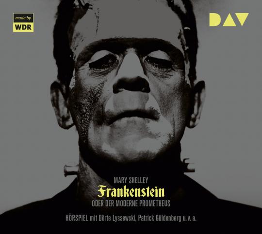 Mary Shelley. Frankenstein oder Der moderne Prometheus. 2 CDs.