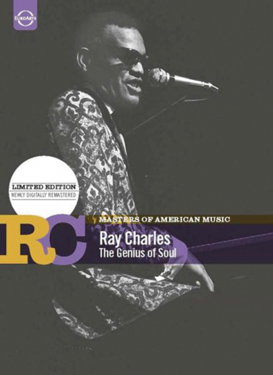 Masters of American Music. Ray Charles. The Genius of Soul. DVD.
