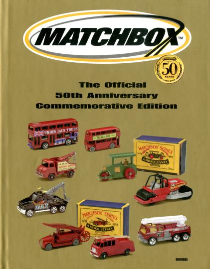 Matchbox. The Official 50th Anniversary Commemorative Edition. Matchbox-Autos. Jubiläums-Edition.