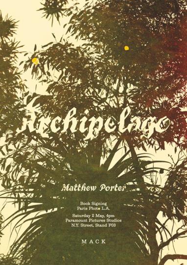 Matthew Porter. Archipelago.