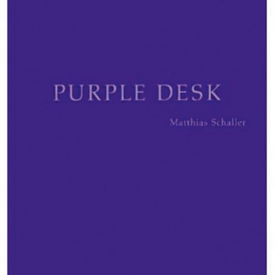 Matthias Schaller. Purple Desk.