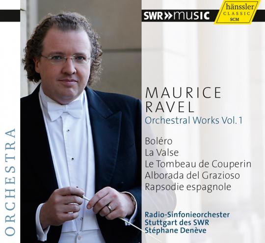 Maurice Ravel. Orchesterwerke Vol. 1. CD.