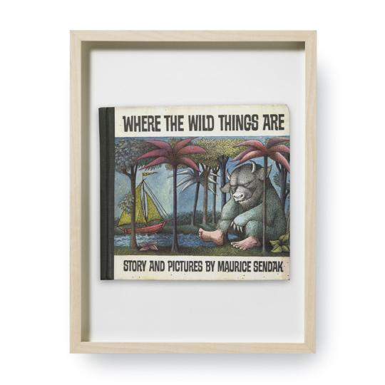 Maurice Sendak. Where the Wild Things Are. Erstausgaben Buchcover. Kunstdruck.