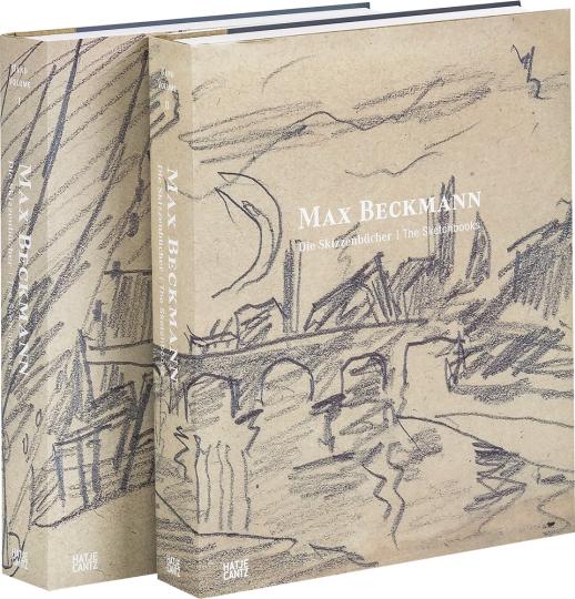 Max Beckmann. Die Skizzenbücher. 2 Bände im Schuber.