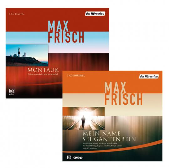 Max Frisch. Montauk & Mein Name sei Gantenbein. 8 CDs.