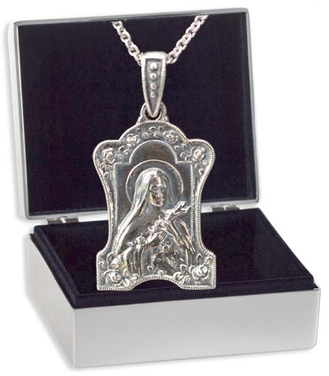 Medaillon »Heilige Teresa«.