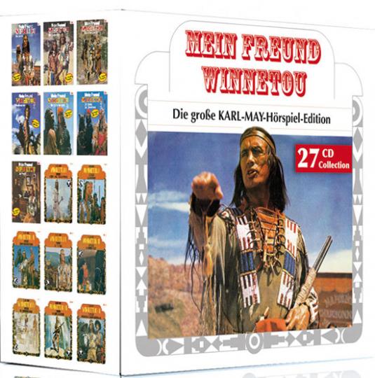 Mein Freund Winnetou. Die große KARL-MAY-Hörspiel-Edition. 27 CDs.