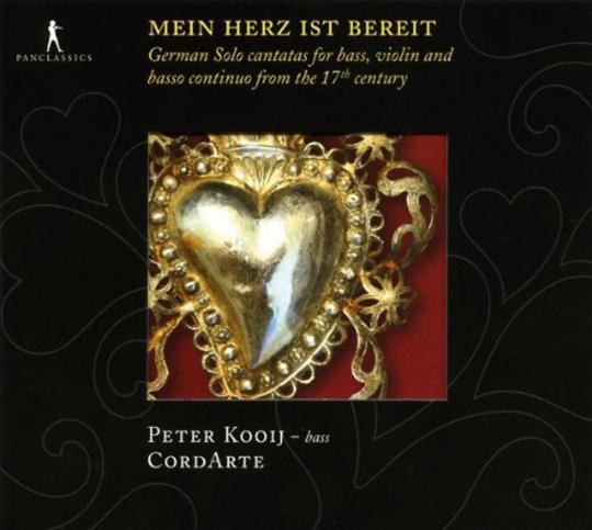 Mein Herz ist bereit - Deutsche Kantaten aus dem 17.Jahrhundert. CD.