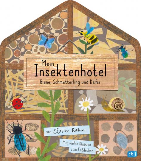 Mein Insektenhotel. Biene, Schmetterling und Käfer.