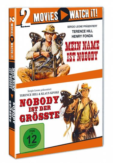 Mein Name ist Nobody / Nobody ist der Größte 2 DVDs