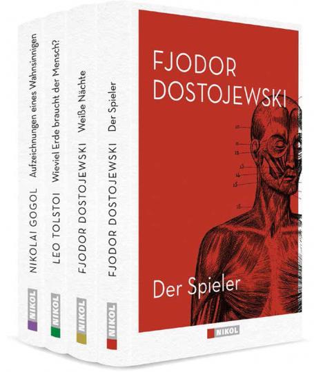 Meisterwerke der russischen Weltliteratur. 4 Bände.