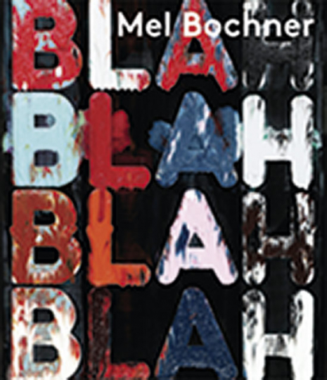 Mel Bochner. If the colour changes.