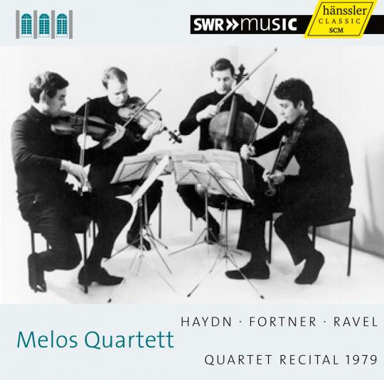 Melos Quartett. Quartet Recital 1979. Haydn, Fortner & Ravel. CD.