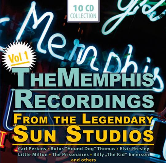 Memphis Aufnahmen aus den Sun Studios. Vol. 1. 10 CDs.