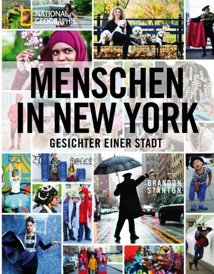 Menschen in New York. Gesichter einer Stadt.