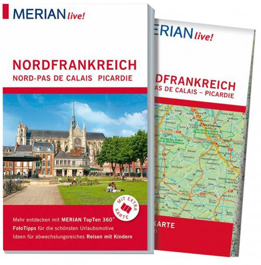 MERIAN live! Reiseführer Nordfrankreich - Nord-Pas de Calais, Picardie