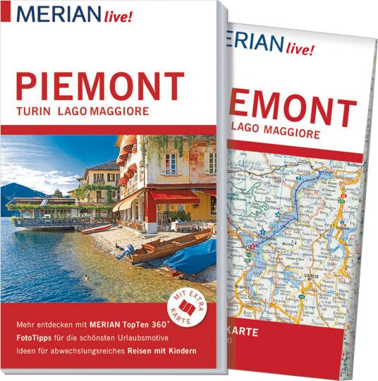 MERIAN live! Reiseführer Piemont