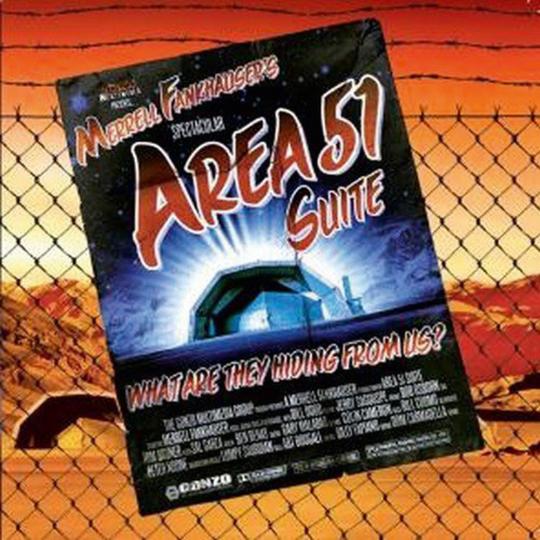 Merrell Fankhauser. Area 51. CD plus DVD.