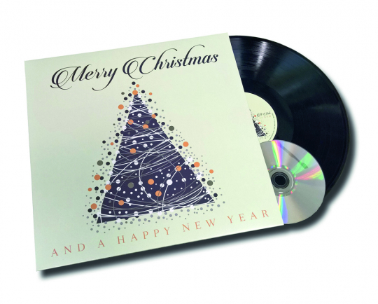 Merry Christmas And A Happy New Year (remastered) (180g). LP plus CD.