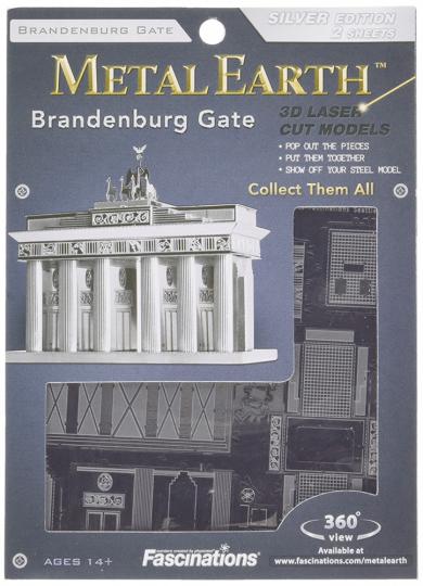 Brandenburger Tor in 3D.