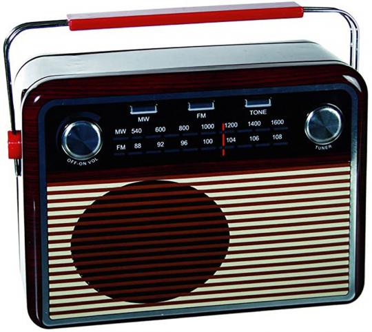 Metall-Box »Radio«.