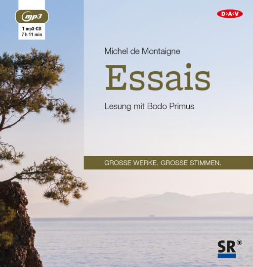 Michel de Montaigne. Essais. mp3-CD.