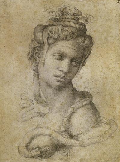 Michelangelo - Graphie und Biographie - Zeichnungen und Schriften des Meisters