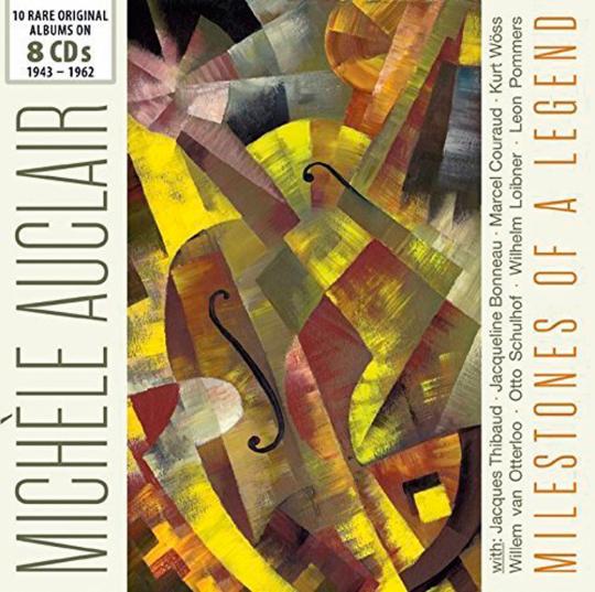 Michèle Auclair. 10 Original Albums.
