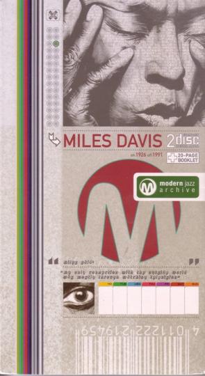 Miles Davis. Bluing / Tune Up. Classic Jazz Archive. 2 CDs.