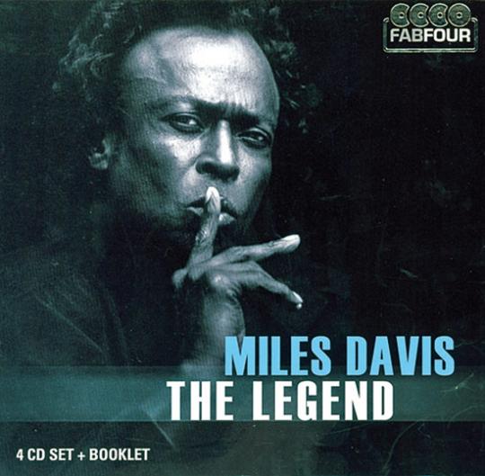 Miles Davis. The Legend. 4 CDs.