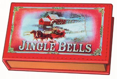 Mini-Buch: Spieldose 'Jingle Bells'