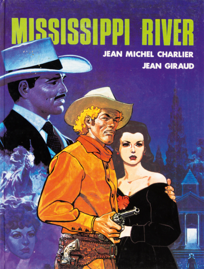 Mississippi River. Graphic Novel.