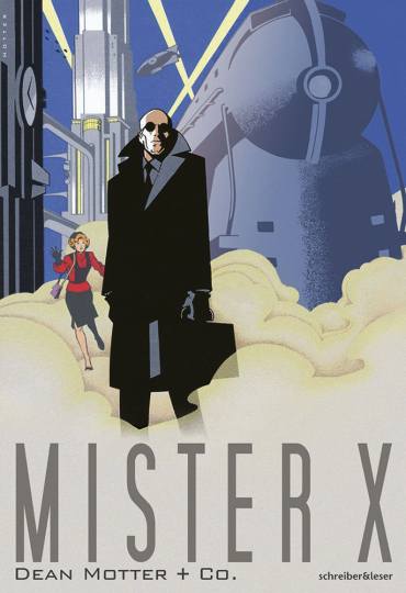 Mister X. Graphic Novel.